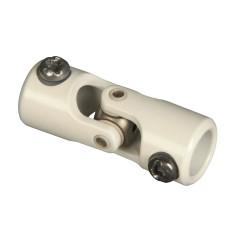 Genouillère acier laquée : Rond Ø 12 mm / Hexagonal 7 mm