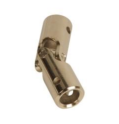 Genouillère acier Ø 16 mm : Rond 10 mm / Rond 10 mm
