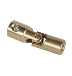 Genouillère acier Ø 16 mm : Rond 13 mm / Hexagonal 6 mm