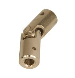 Genouillère acier Ø 16 mm : Carré 6 mm / Rond 10 mm