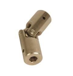 Genouillère acier Ø 16 mm : Hexagonal 6 mm / Hexagonal 6 mm