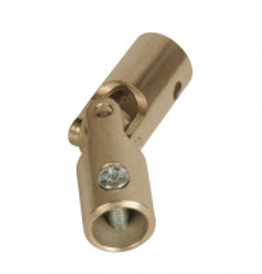 Genouillère acier Ø 16 mm : Rond 10 mm / Rond 12 mm