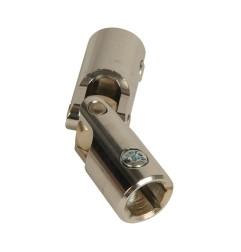 Genouillère acier Ø 18 mm : Rond 12 mm / Rond 12 mm