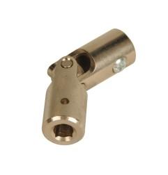 Genouillère acier Ø 16 mm : Rond 12 mm / Carré 6 mm