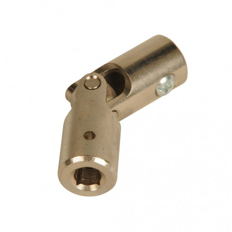Carr/é 6 mm//Rond 10 mm Genouill/ère acier /Ø 16 mm