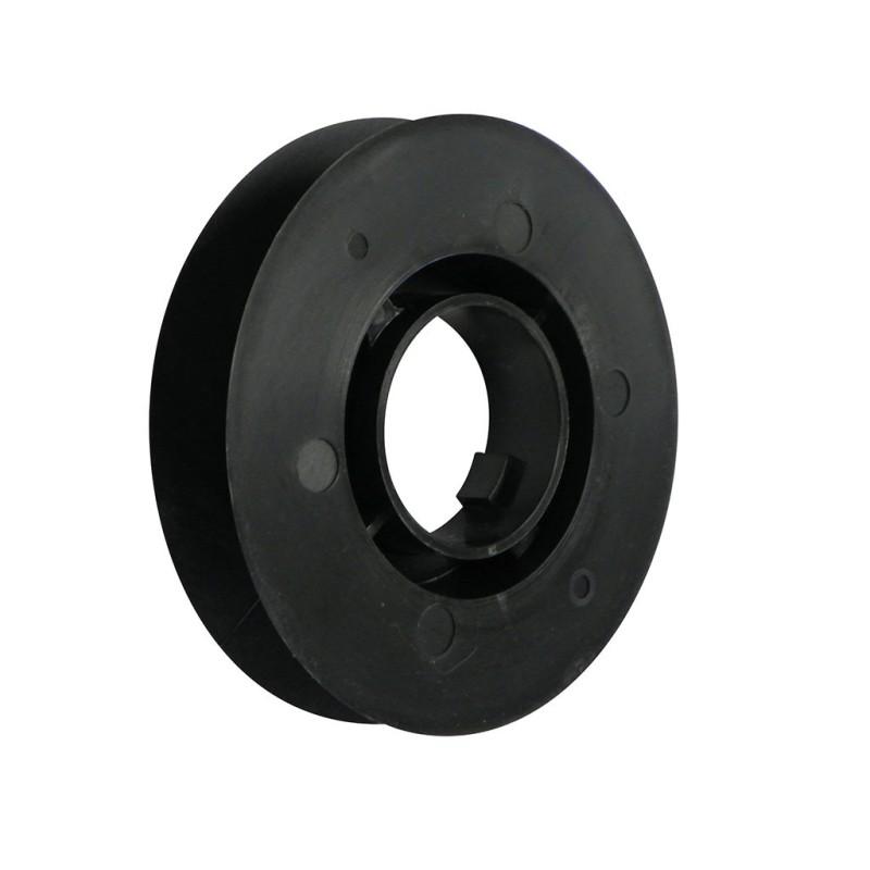 poulie 100 mm clipper zfg130 pour tube de volet roulant. Black Bedroom Furniture Sets. Home Design Ideas