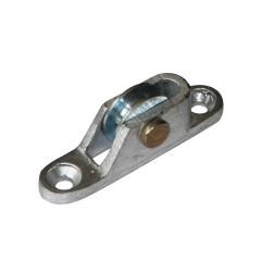 Poulie verticale en aluminium petit modèle