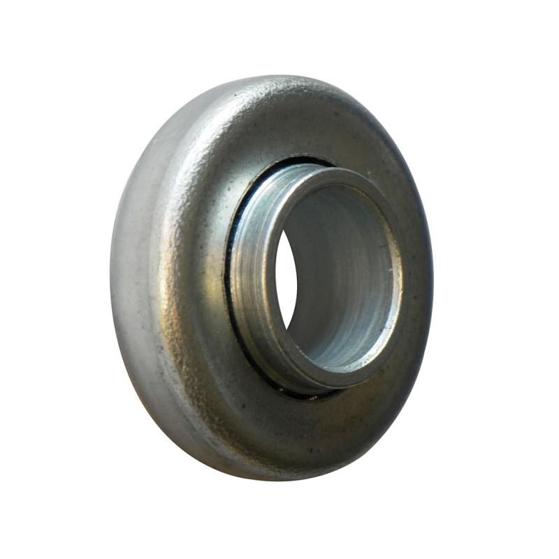 Roulement à billes acier 28 mm à épaulement et trou 12 mm