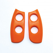 Ailes pour Coccinella 4 touches - Orange