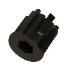 Moyeu d'adaptation sortie hexagonal 10 mm DEPT1050-H10