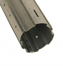 Tube acier galvanisé ZF54 (1 mètre)