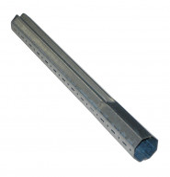 Rallonge télescopique octogonal 40 mm