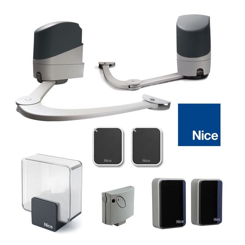 Automatisme NICE POPKIT 7124 avec 2 télécommandes ON2E