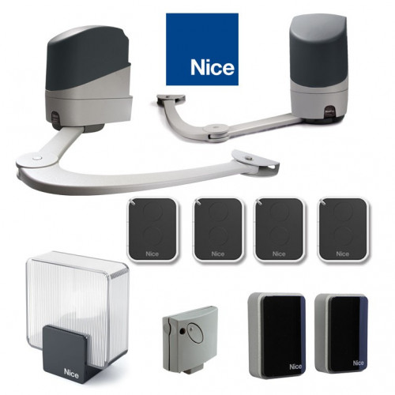 Automatisme NICE POPKIT 7124 avec 4 télécommandes ON2E