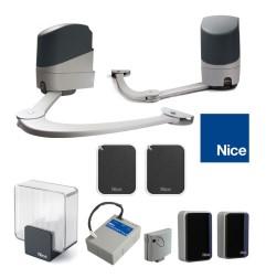 Automatisme NICE POPKIT 7124 avec 2 télécommande ON2E et PS124