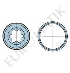 Adaptateur pour moteur Neo Ø 35 mm pour tube rond 40 mm
