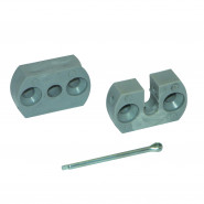 Support pour embout Ø6 mm