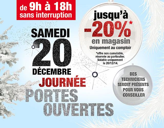 Portes ouvertes Euromatik samedi 20 décembre 2014