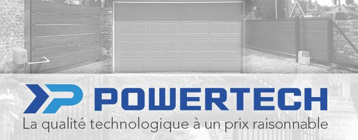 Powertech, motorisation de portes de garage et portails