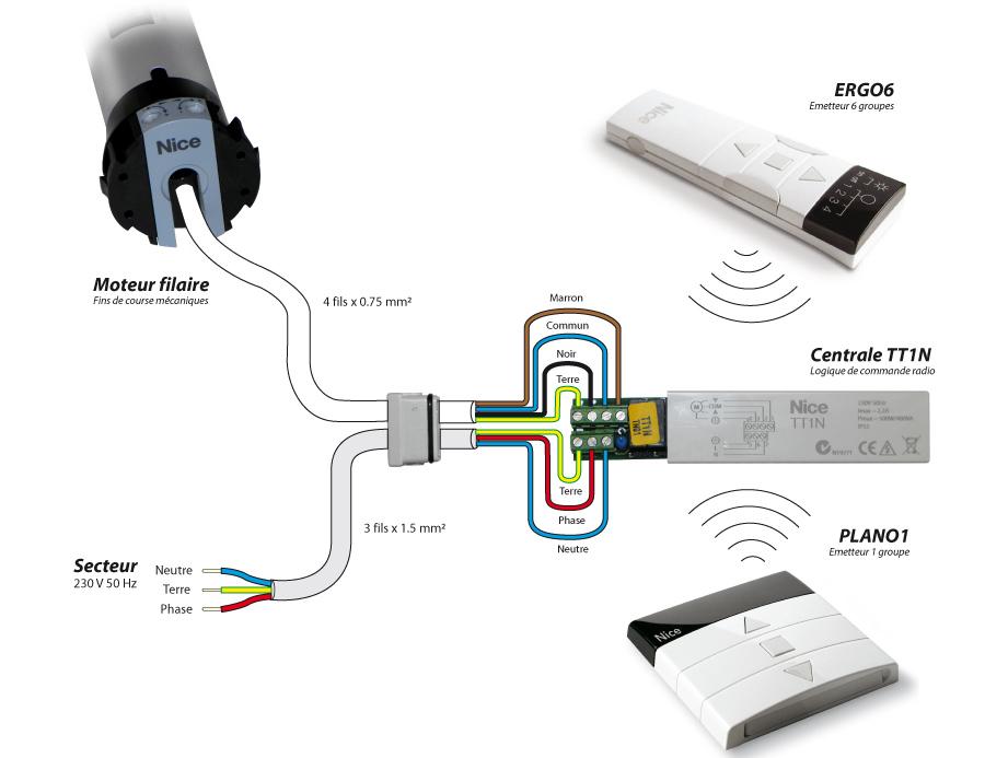 Tt1n centrale de commande radio pour moteur de store et volet roulant ebay - Delai pour annuler une commande ...