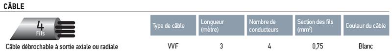 Câblage ILMO WT 50