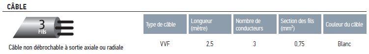 Câblage LS 40 WT