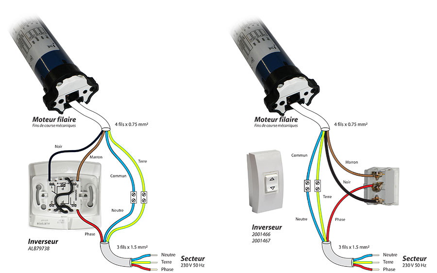 moteur selve eco2 20 nm pour volet roulant. Black Bedroom Furniture Sets. Home Design Ideas