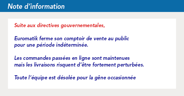 Informations, directives gouvernementales